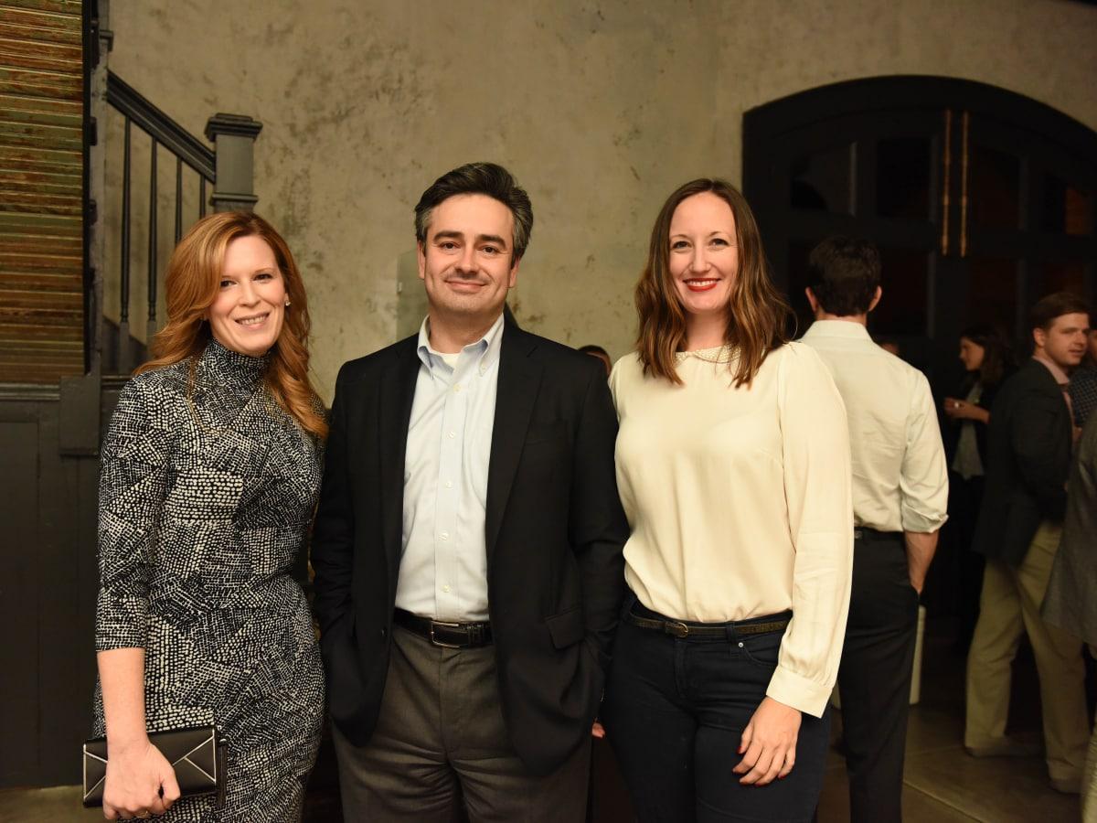 News, Pier & Beam party, Dec. 2015, Carey Kirkpatrick, David Rassin, Alison Lott