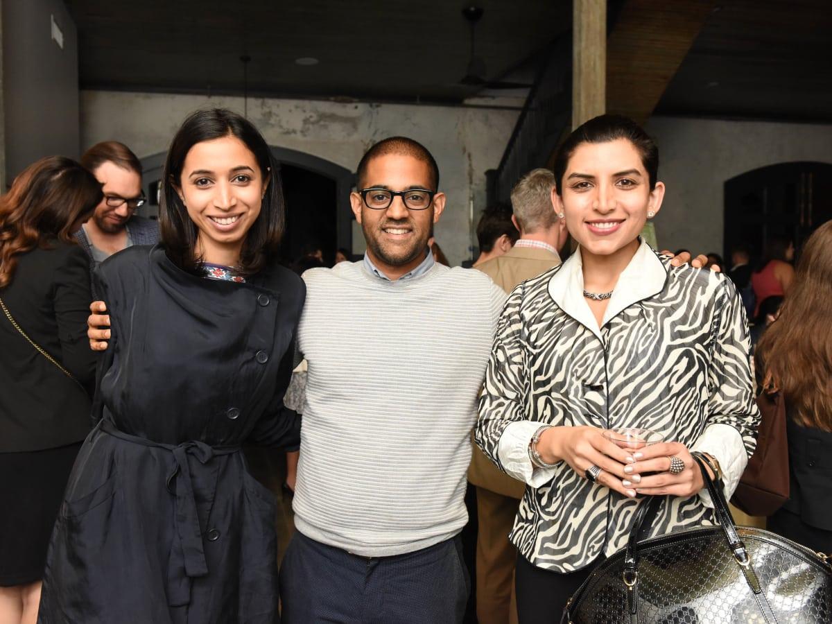 News, Pier & Beam party, Dec. 2015, Asha Gandhi, Vikas Sodhani, Puja Verma