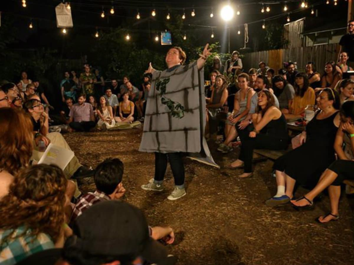 A Midsummer Night's Dream at Shakespeare in the Bar in Dallas