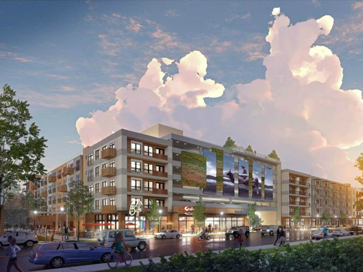 The Arnold East Austin development Sixth and Comal rendering