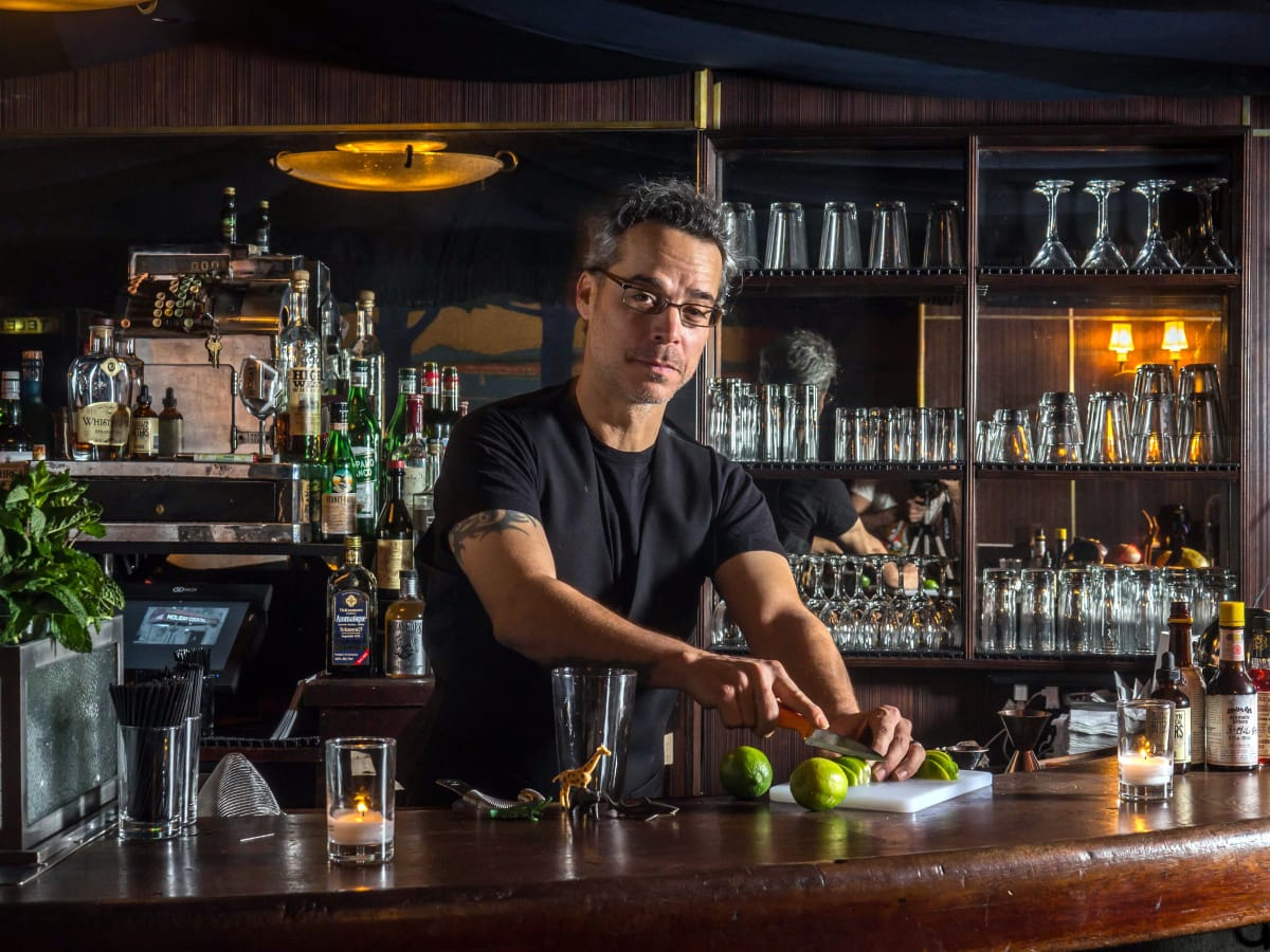 Houston, LA bartender Michael Neff, November 2015