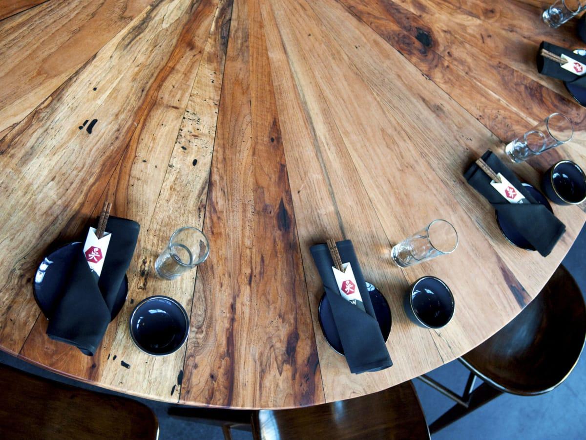 Wu Chow communal table