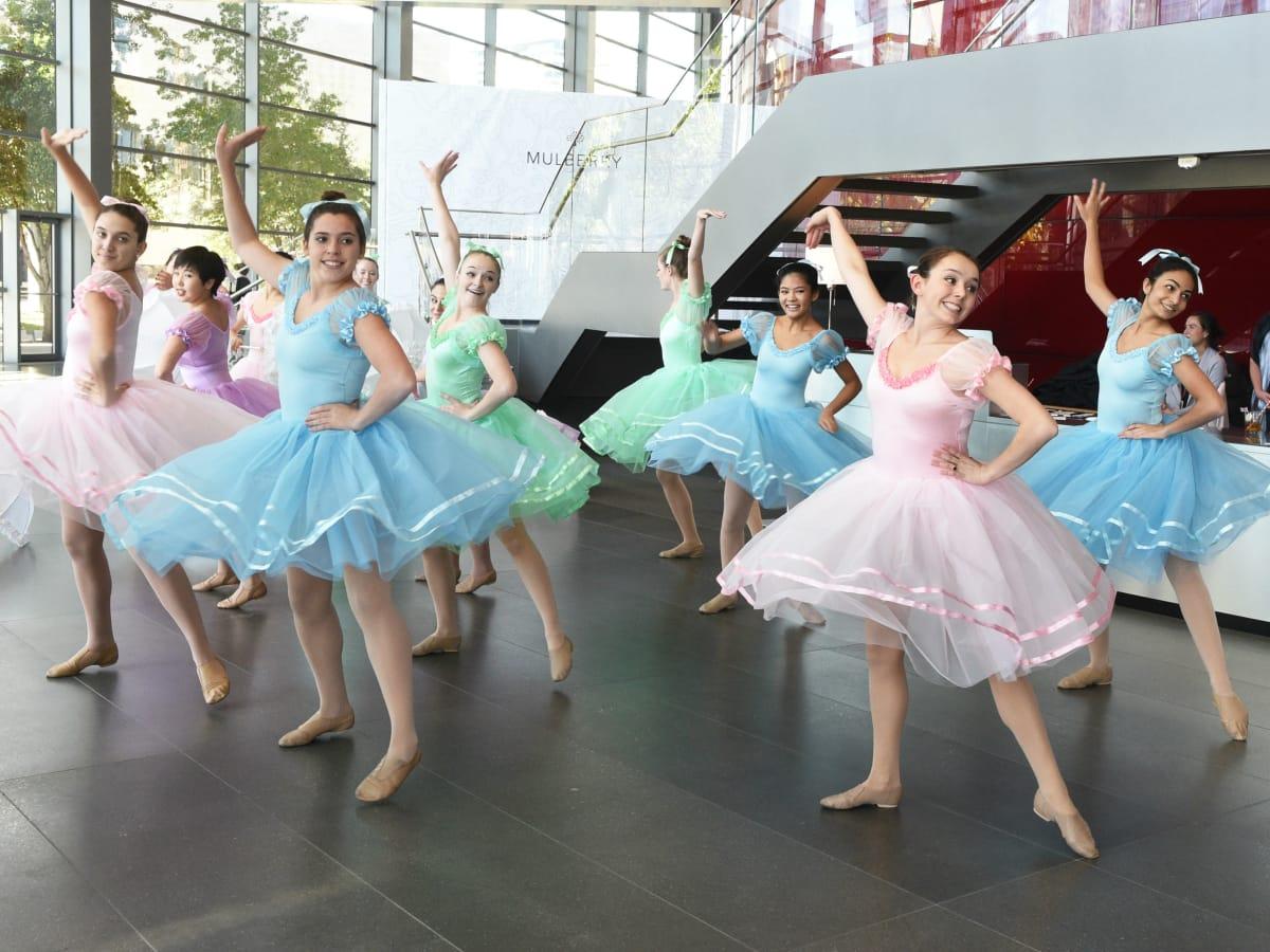 Hockaday Dance Theater Students
