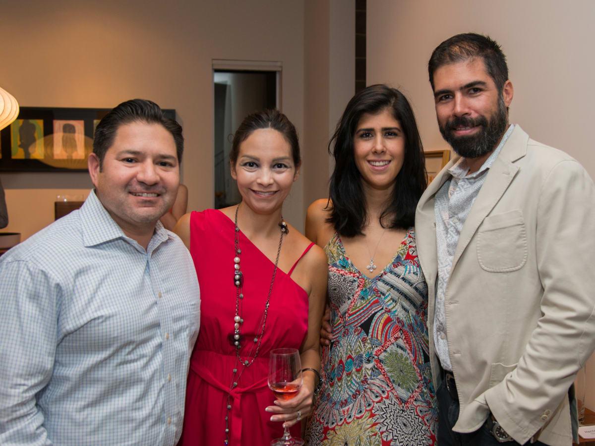 Houston, HGO Young Patrons event, October 2015, Gerard Trevino, Kimberly Trevino, Alejandra Lozano, Hector Torres