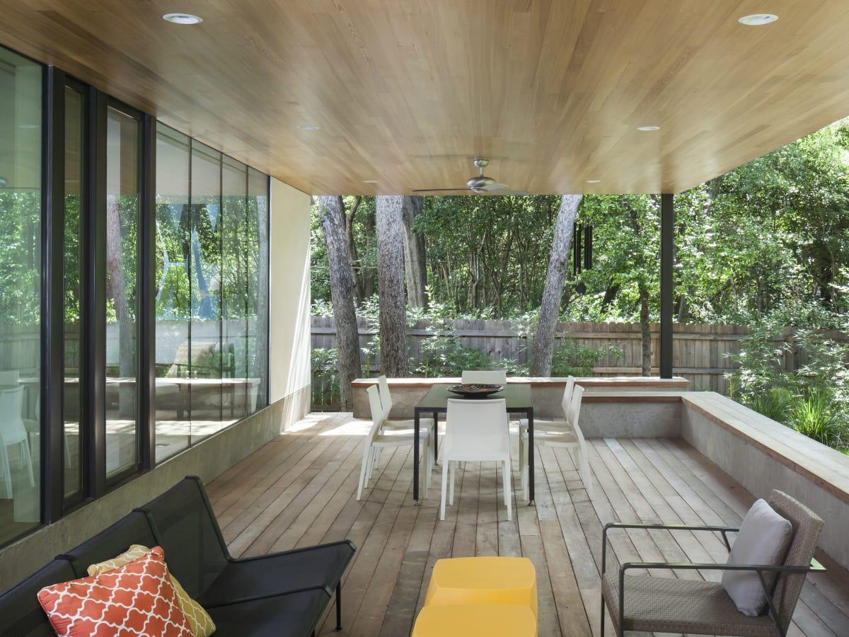 AIA Austin Homes Tour 2015 Nick Deaver outdoor patio