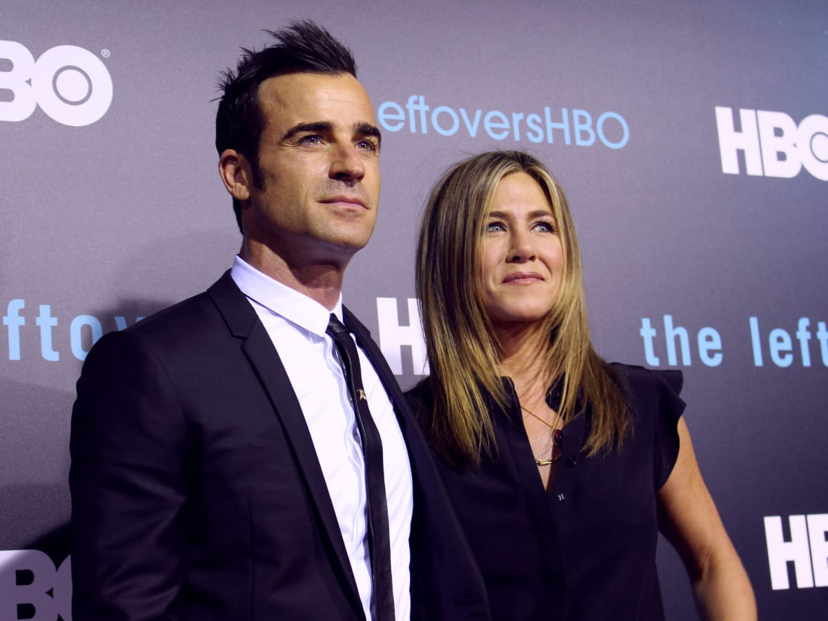 The Leftovers HBO Season 2 red carpet premiere Justin Theroux Jennifer Aniston October 2015