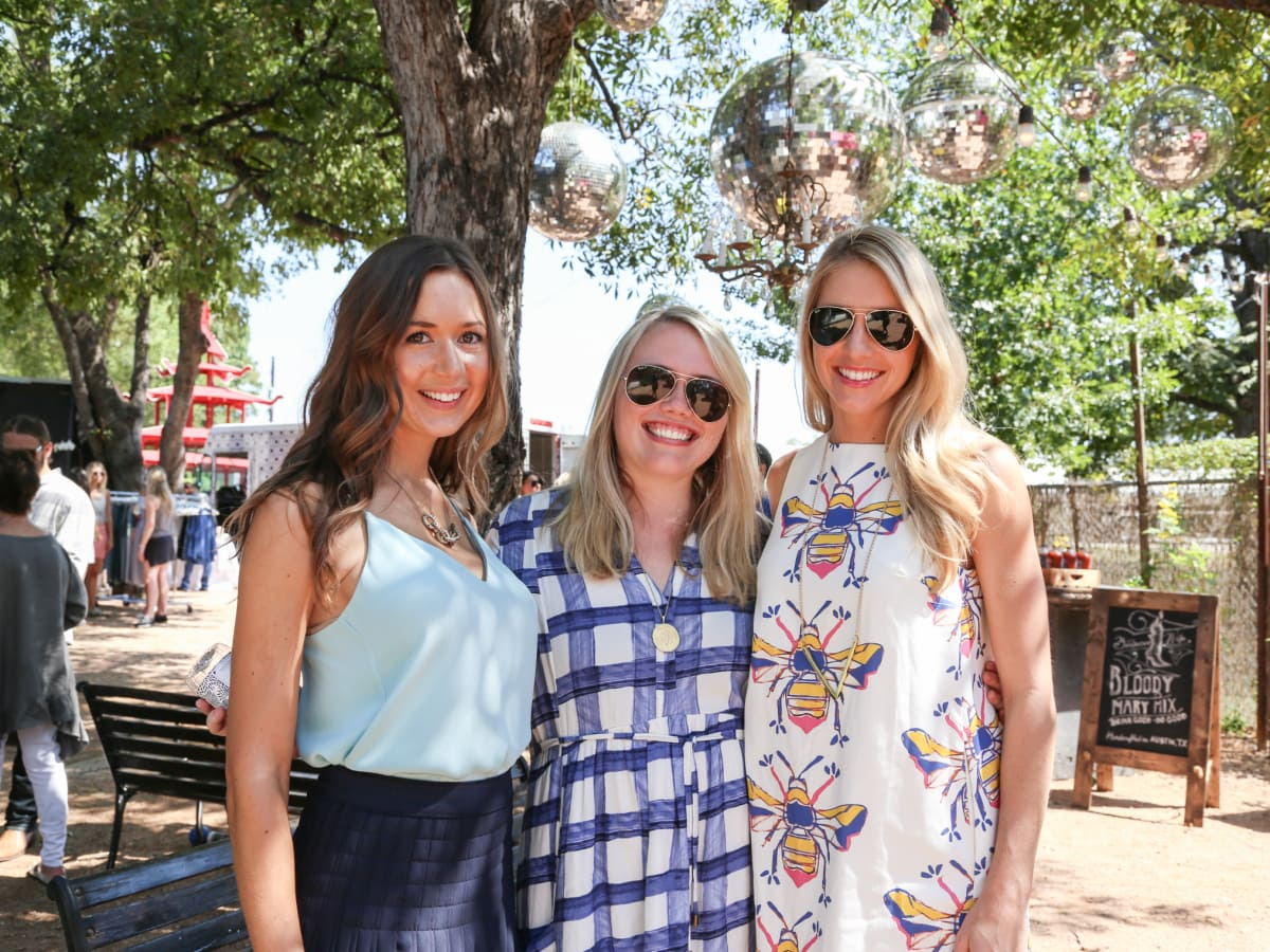 Tribeza Style Brunch 2015 at Justine's Brasserie Camille Styles Lauren Smith Ford Jennifer Welch