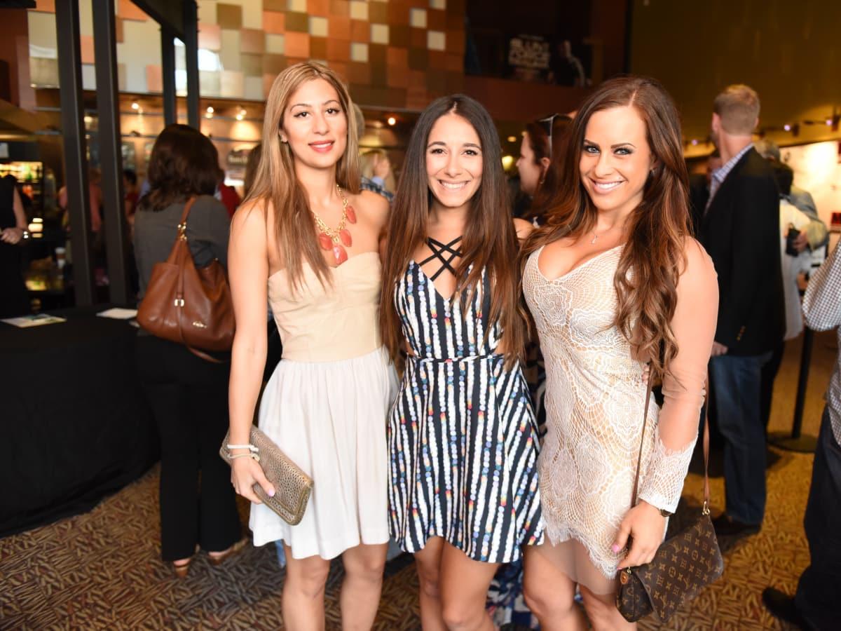 News, Shelby, Blunt Force Trauma premiere, Aug. 2015, Layal Elsaadi, Shireen Hadi, Alexis Paige