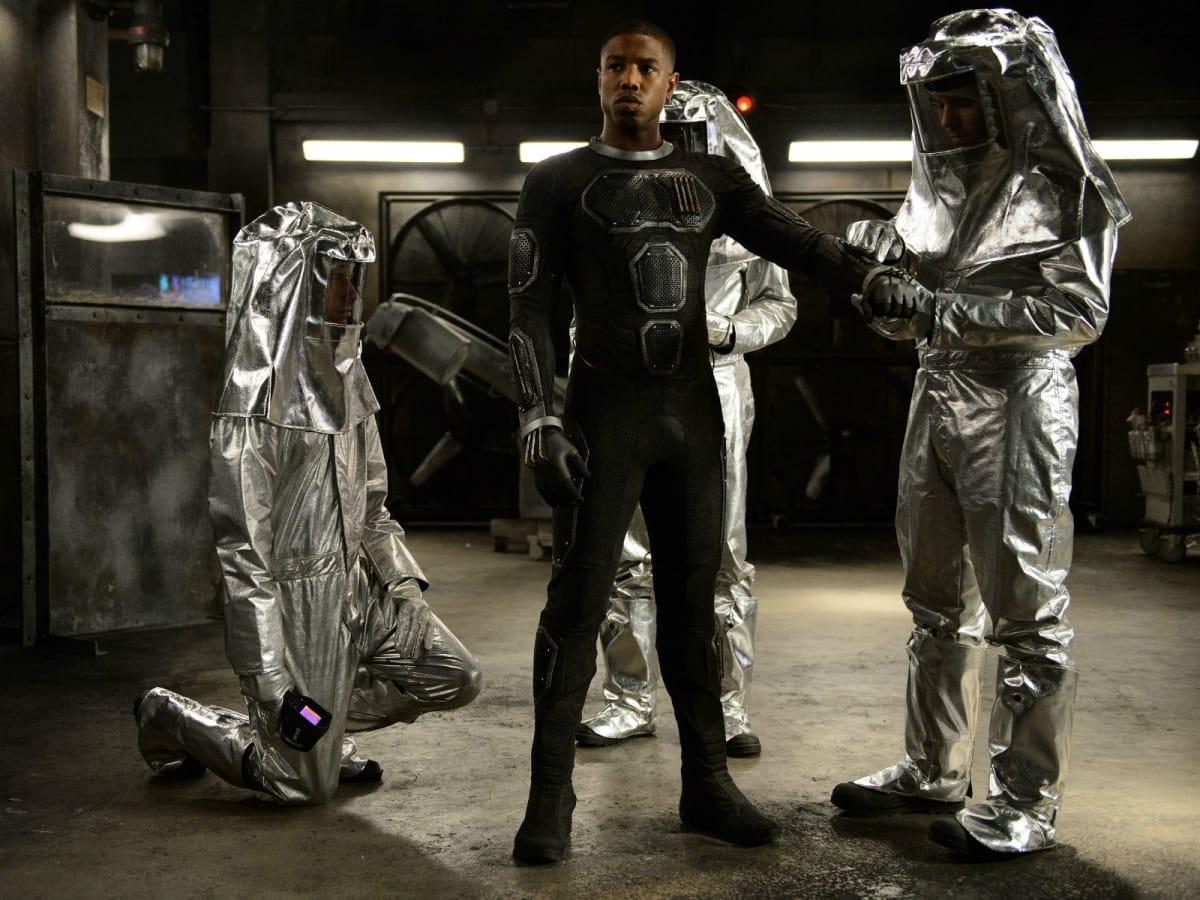 Michael B. Jordan in Fantastic Four