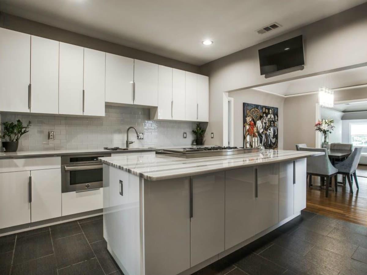 Kitchen at 114 N. Edgefield in Dallas