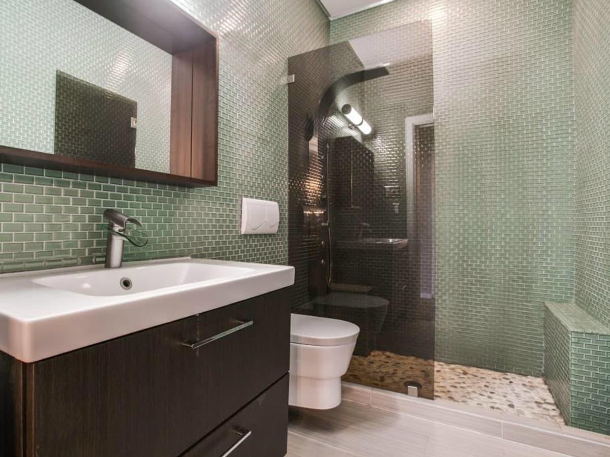 Bathroom at 114 N. Edgefield in Dallas