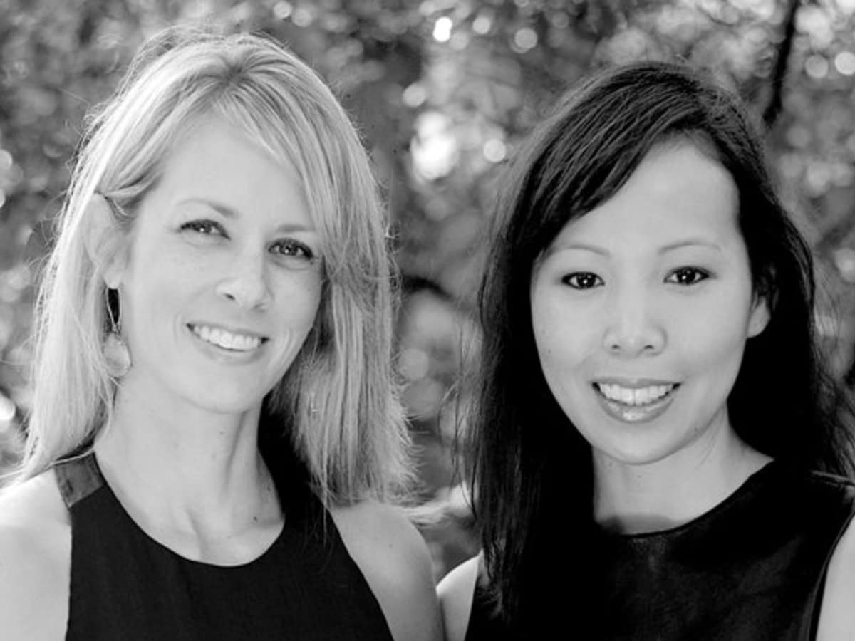 Leslie LaLonde and Patty Wu Benson of Towne & Market