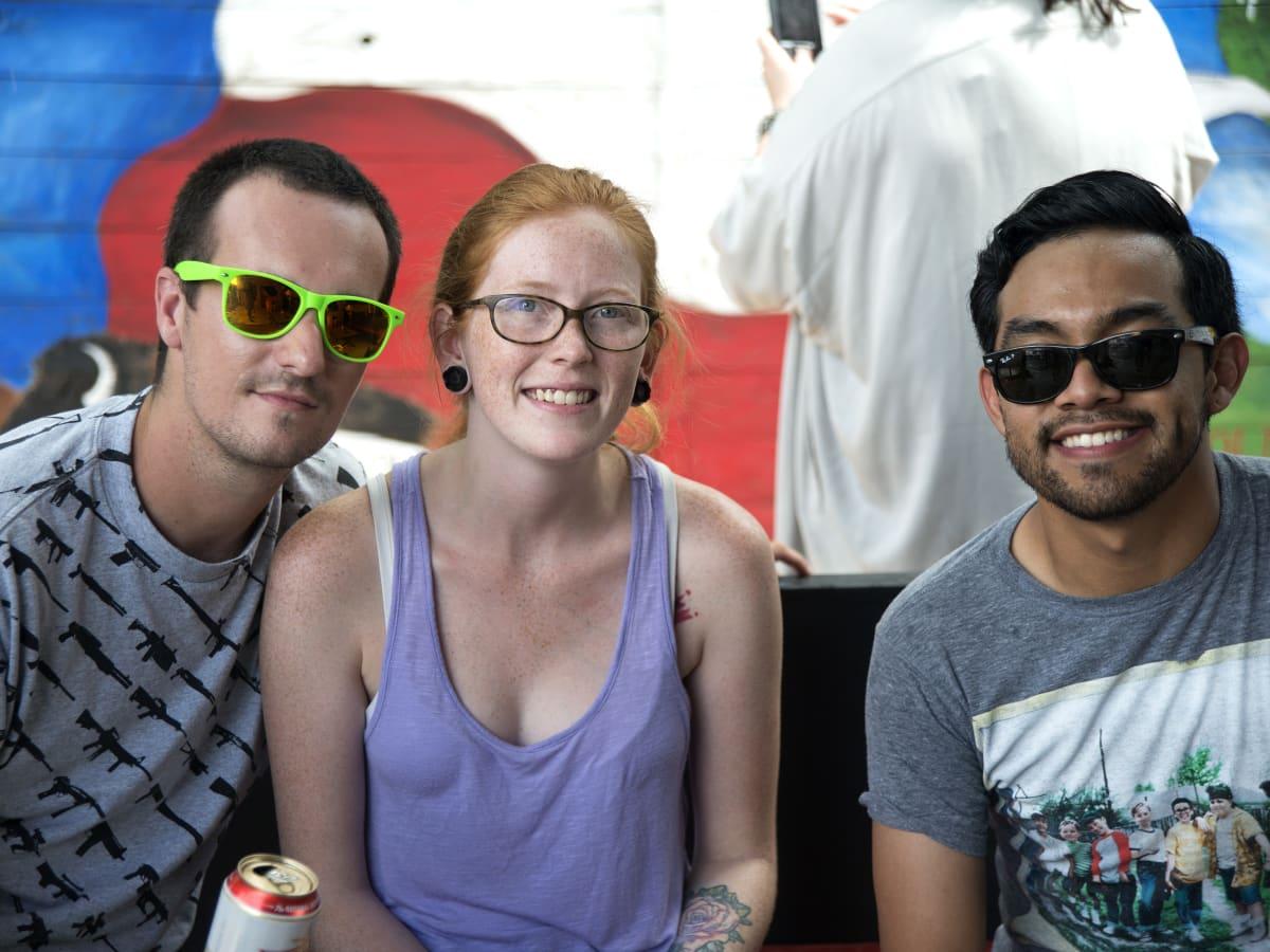 News, Shelby, Revelry party, July 2015, Javier Munoz, Mary Donaldson, Aron Dossman