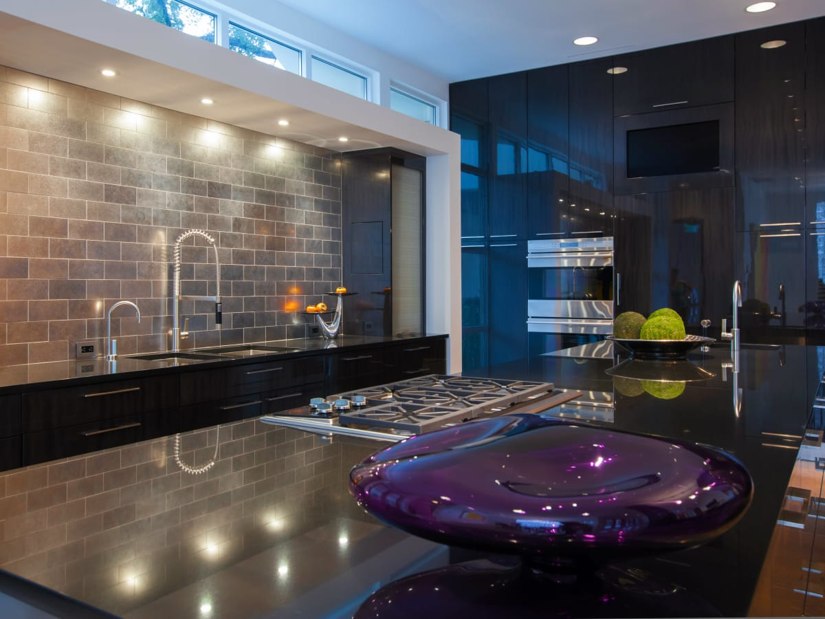Kitchen designed by Key Residential in Dallas