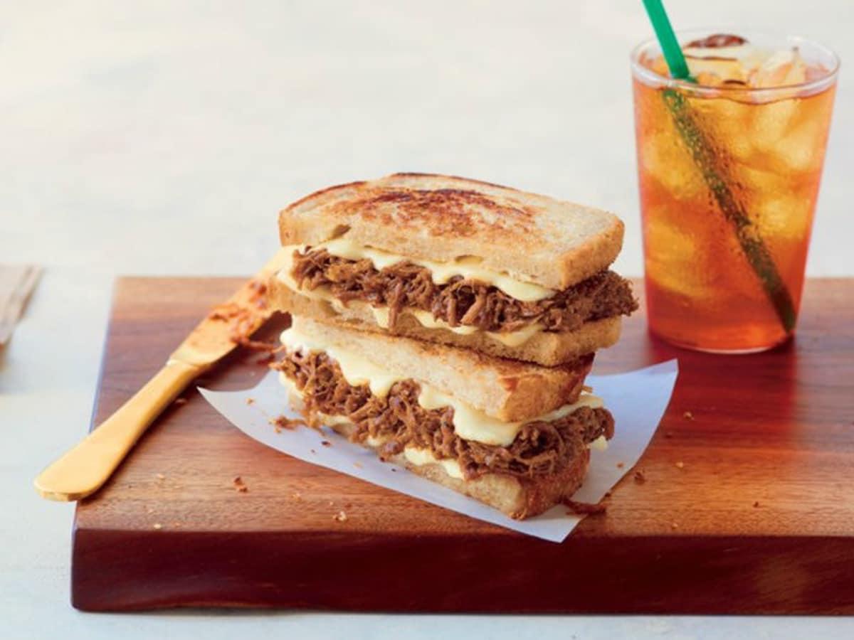 Starbucks BBQ sandwich