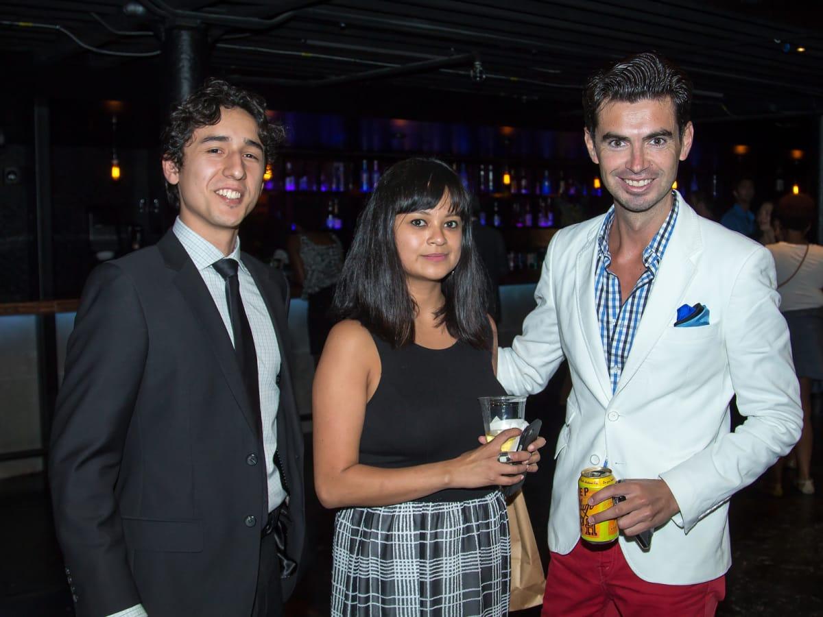 Armando Magallanez, Ruby Hunt, Michael Rodriguez