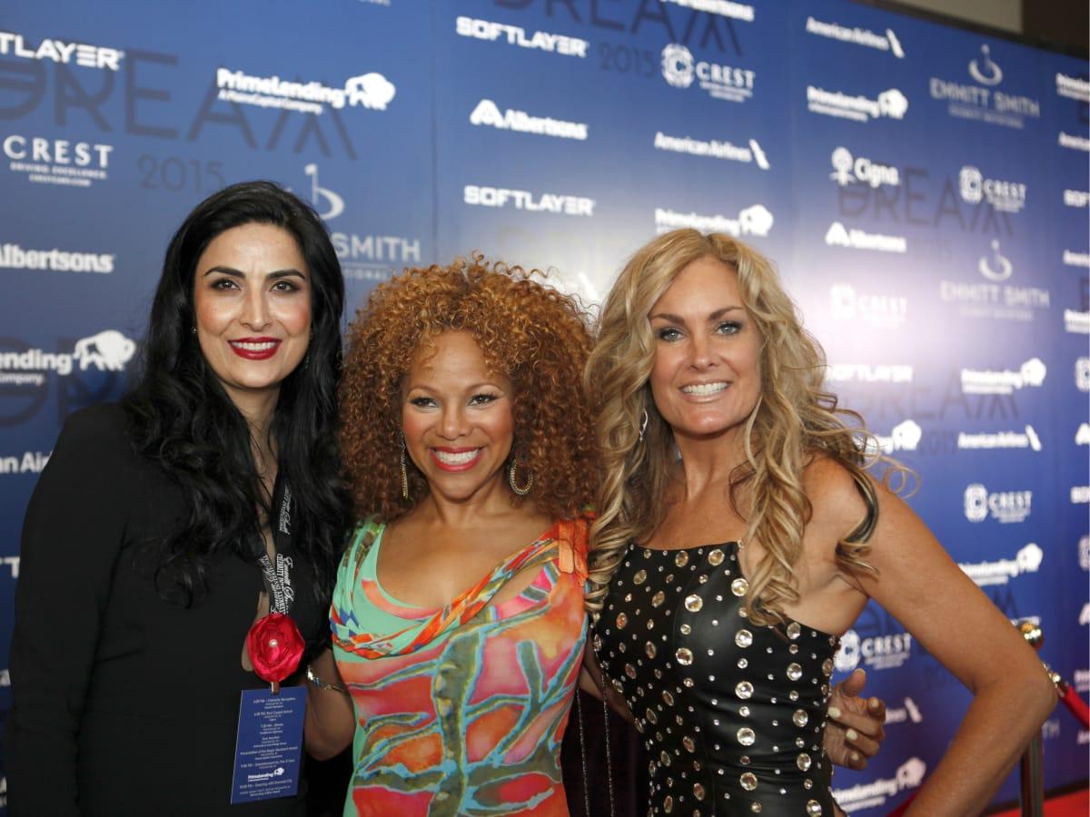 Anita Mahram, Donna Richardson, Carmen Studer