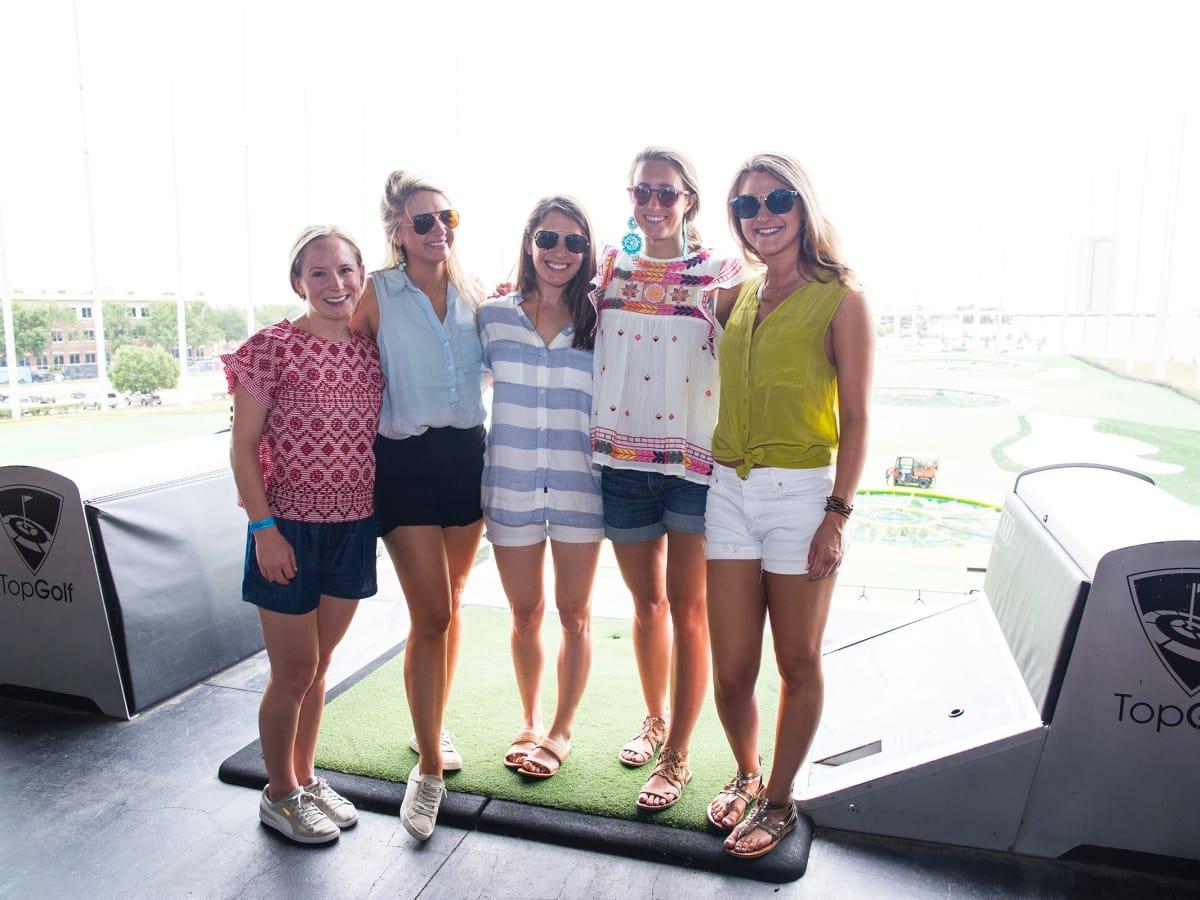Houston, TeeUp for NFCC 6, May 2017, Callie Fine, Sarah Leatherwood, Kerbey Finger, Hilary Mundinger, Beth Morgan