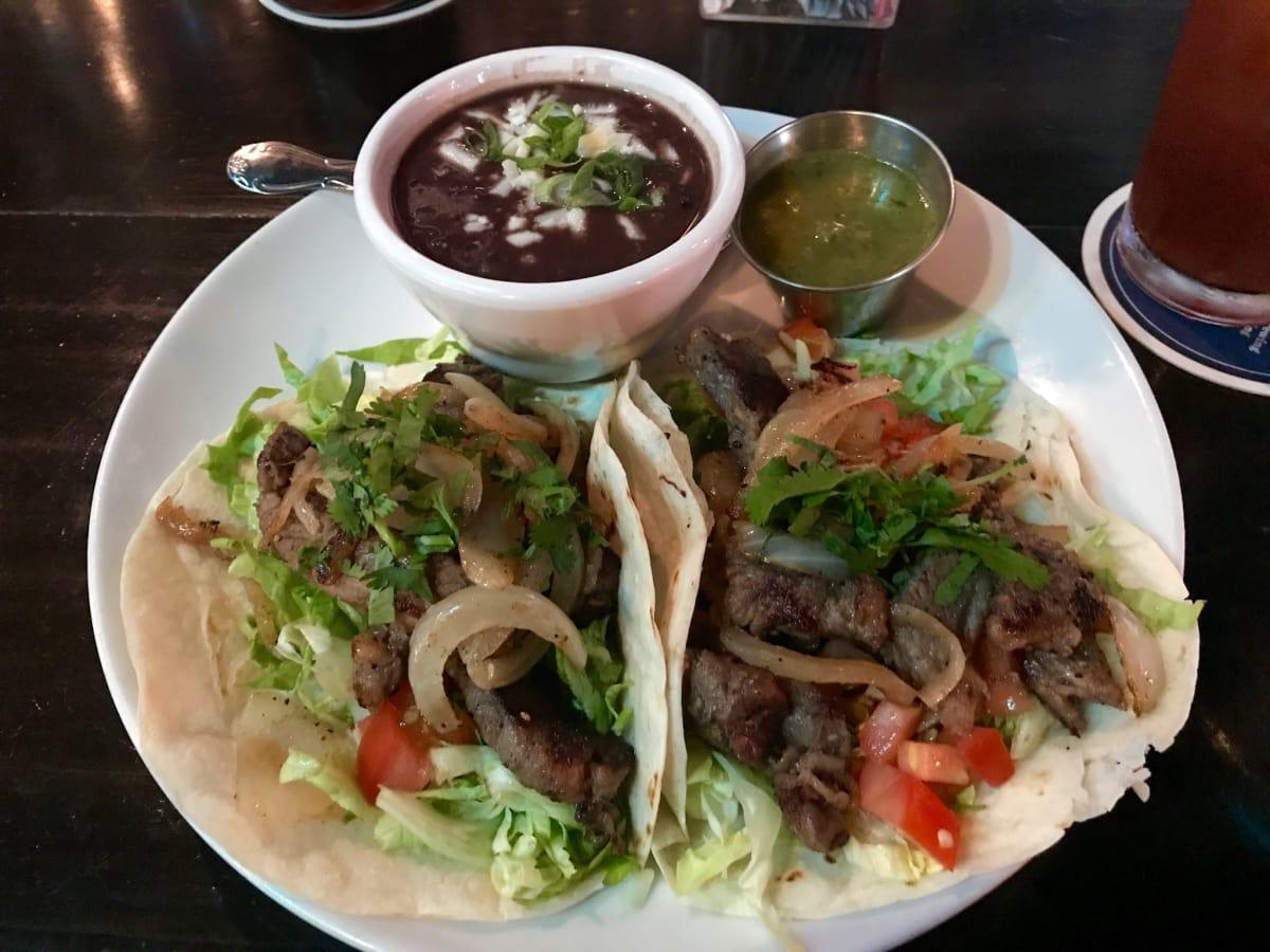 Lowbrow steak taco