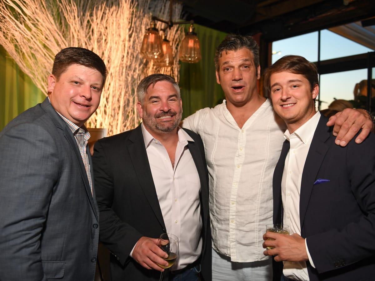 Houston, B&B Butchers & Restaurant Partini with Amschwand Sarcoma Cancer, June 2017, Chris Land, Jim Brennan, Lou Savarese, Jonas Fertitta