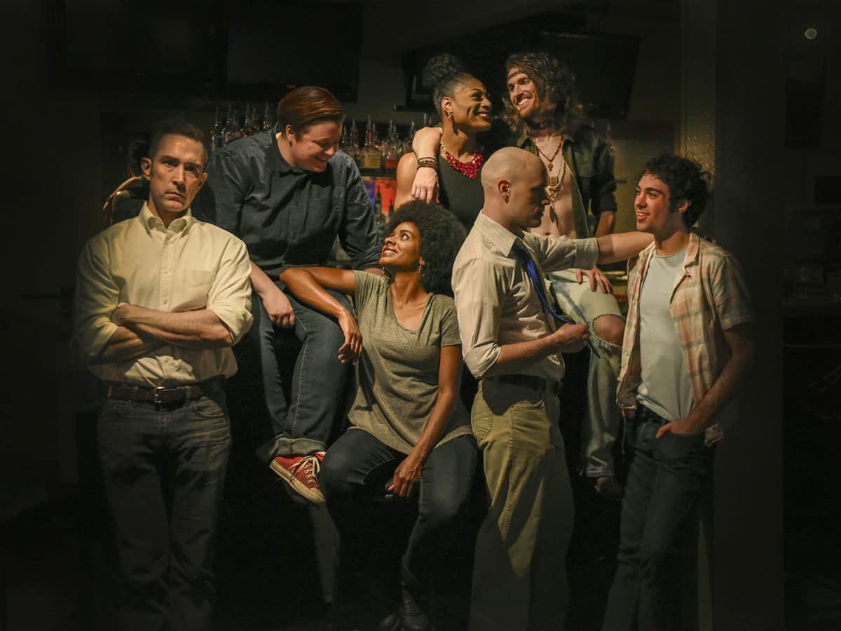 Cast of WaterTower Theatre's Hit the Wall