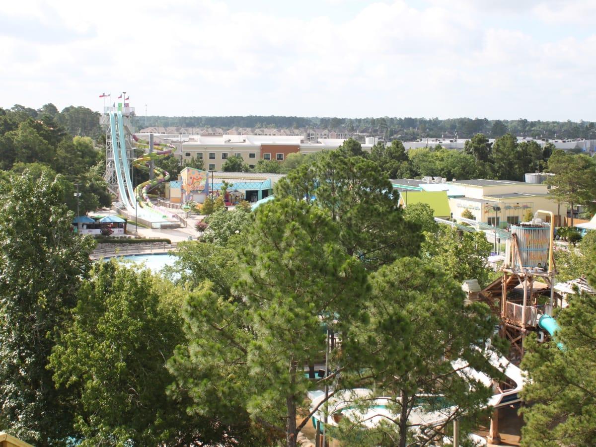 Houston, SplashTown aerial view, June 2017