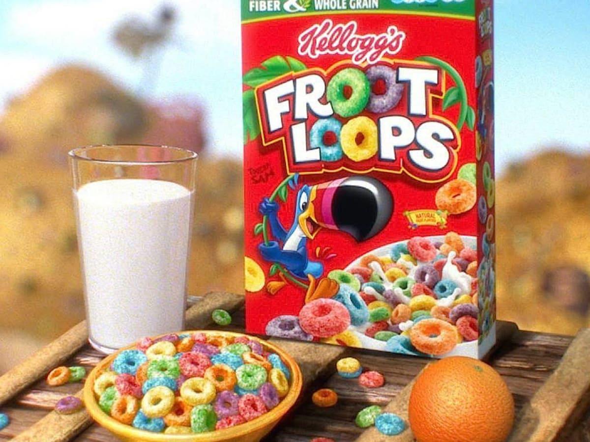 Houston, june 2017, Fruit Loops cereal