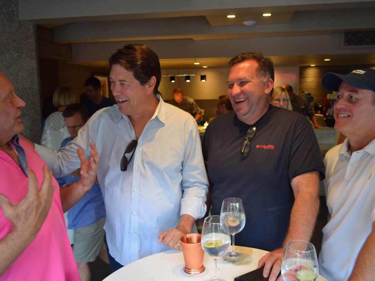 Mickey Altman Randy DeWitt, Jack Gibbons, Tim Timbs at Aspen Food & Wine festival