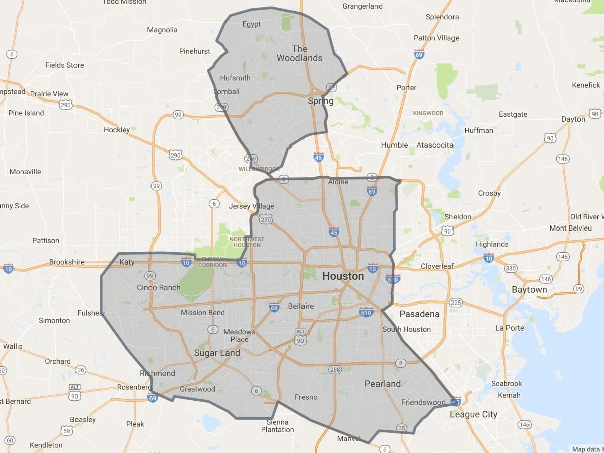 Favor delivery app Houston area summer 2017