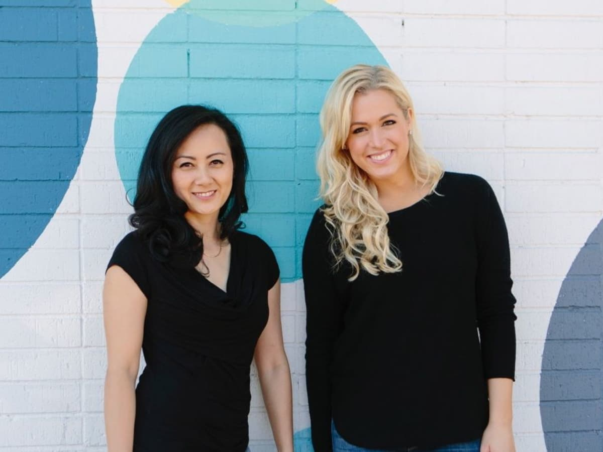 Unitee founders Judy Le (L) and Ericka Graham CROPPED PHOTO
