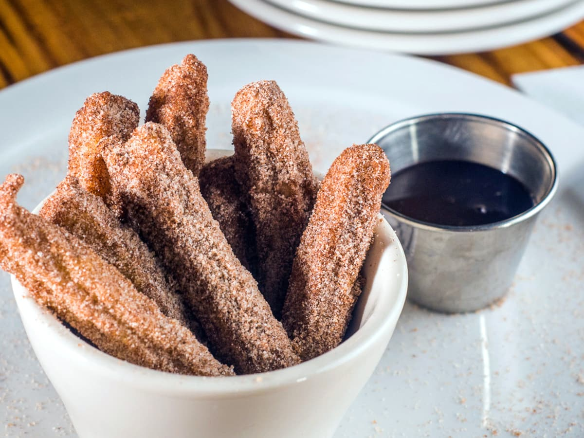 Houston, creative churros, July 2017, The Branch churros