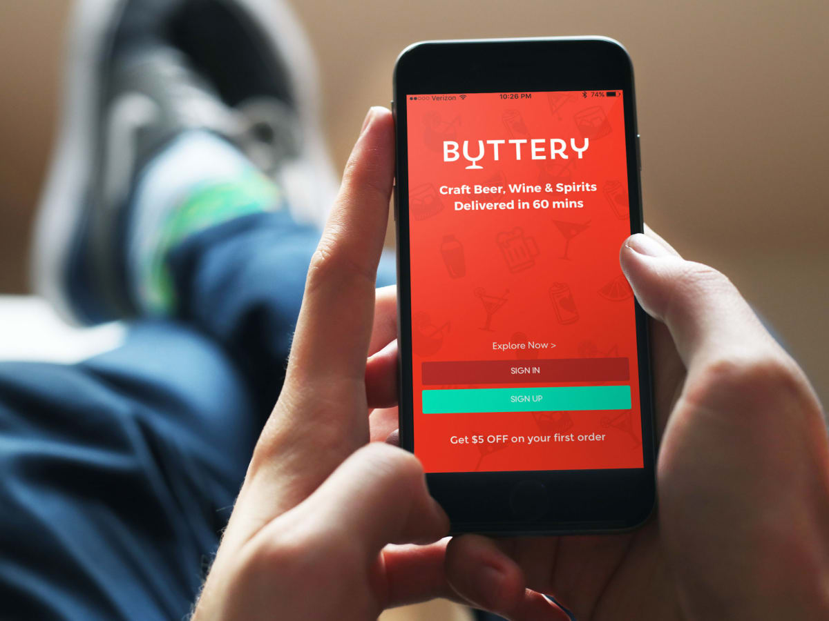 Buttery delivery app
