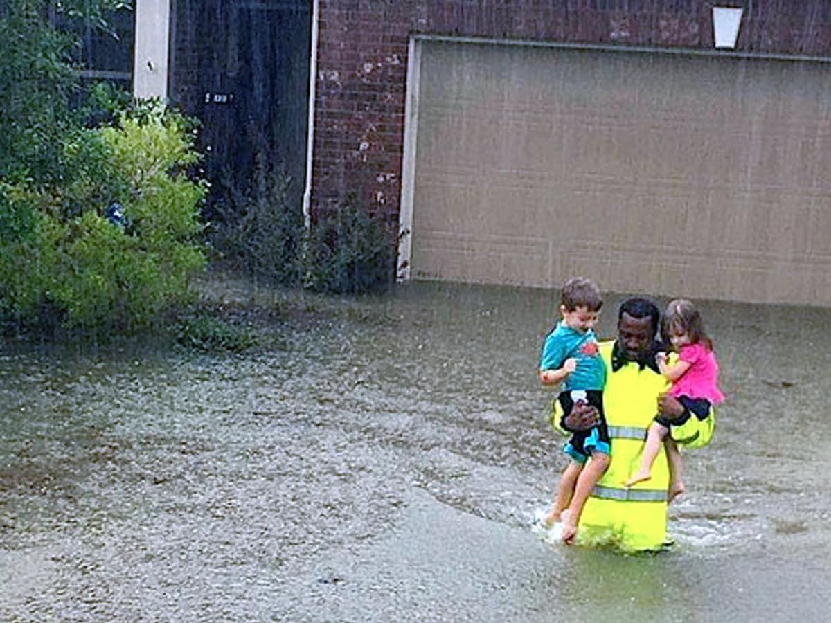 Houston, Hurricane Harvey, flood photos, Houstonians are resilient
