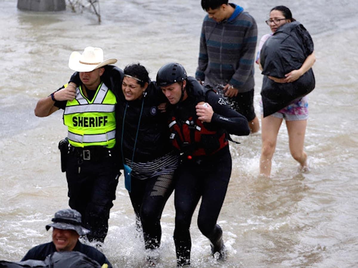 Houston, Hurricane Harvey, first responders, August 2017