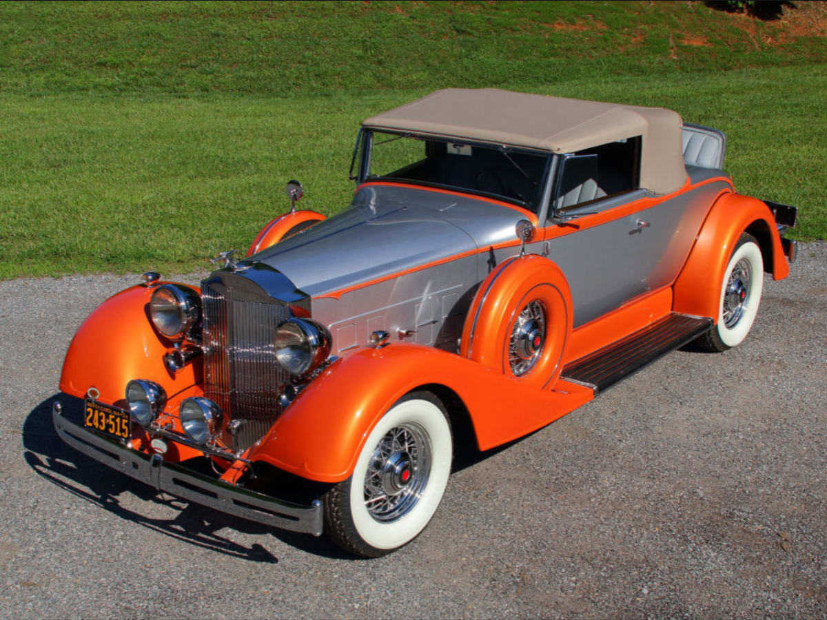 1934 Packard Coupe Roadster