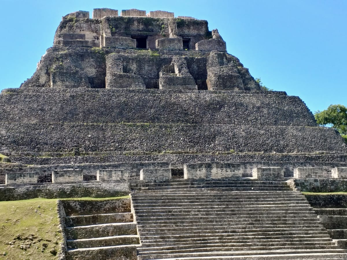 San Ignacio Resort Hotel, Belize, ancient pyramids of Xunantunich