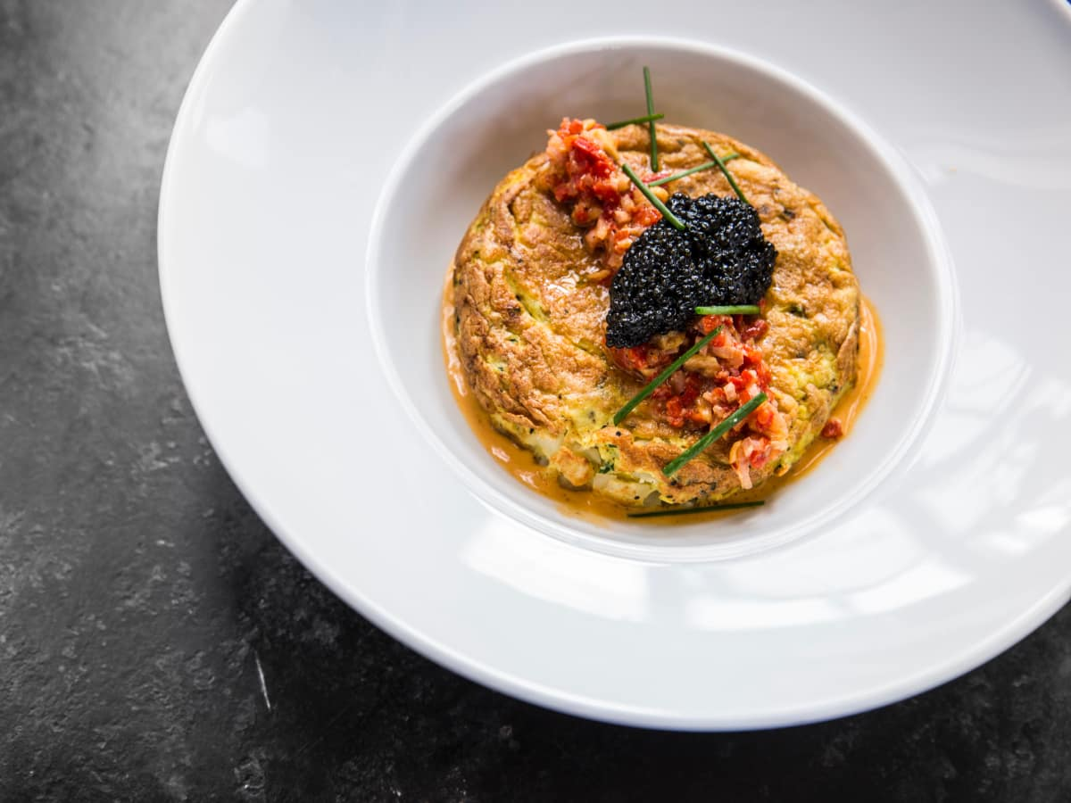 One Fifth Romance Languages caviar tortilla