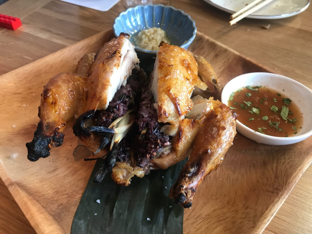 Aqui roasted hen