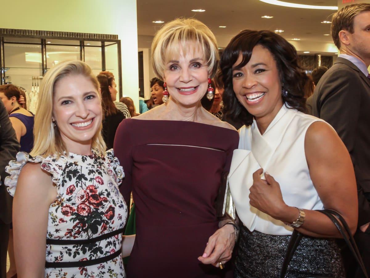 Isabel David, Leisa Holland Nelson and Gina Gaston/Women of Distinction