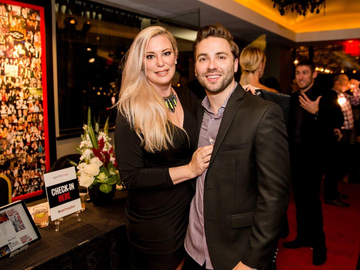 Houston, SportsMap launch party, October 2017, Jennifer Muller, Brandon Strange