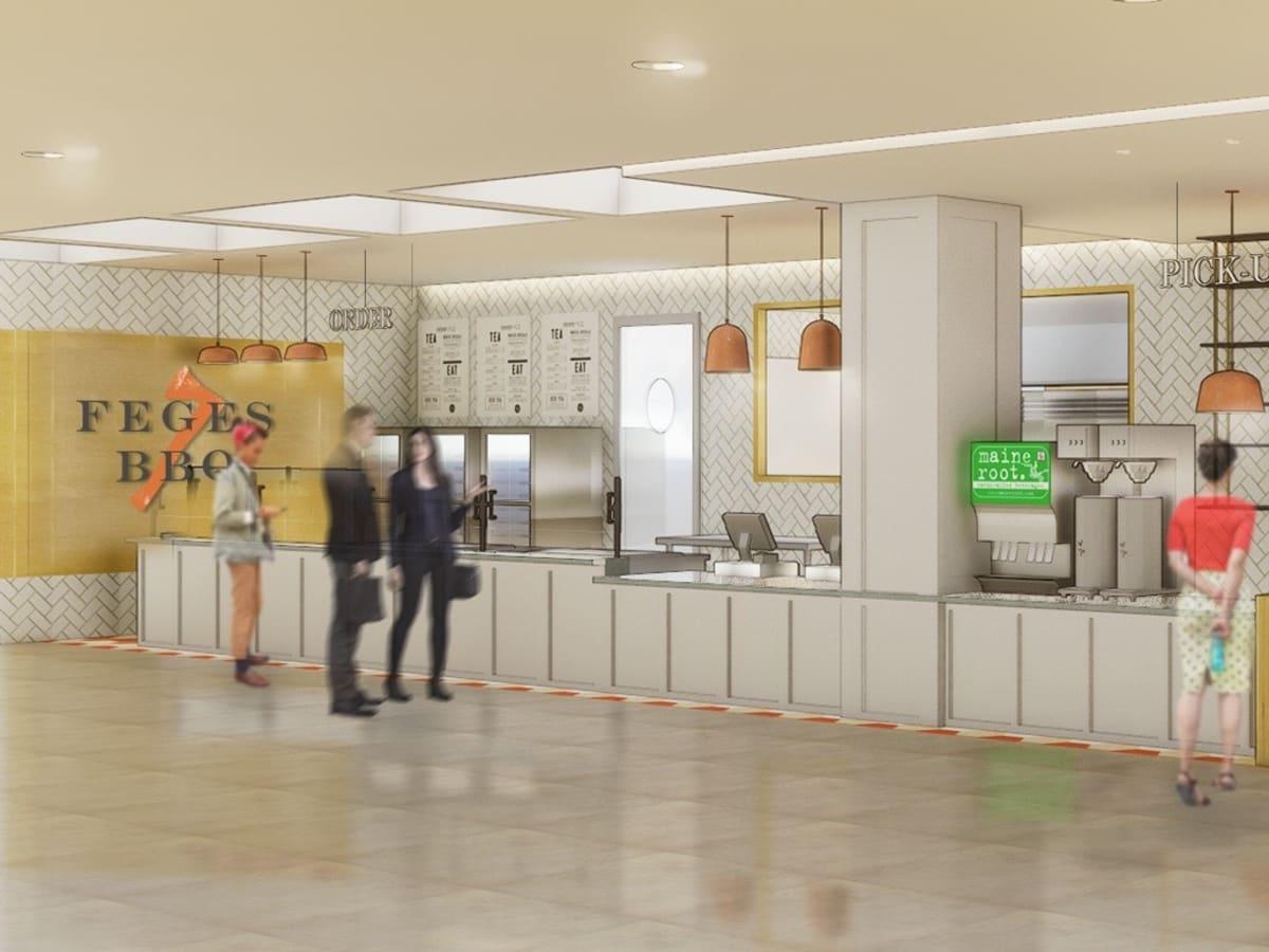Feges BBQ Greenway Plaza rendering