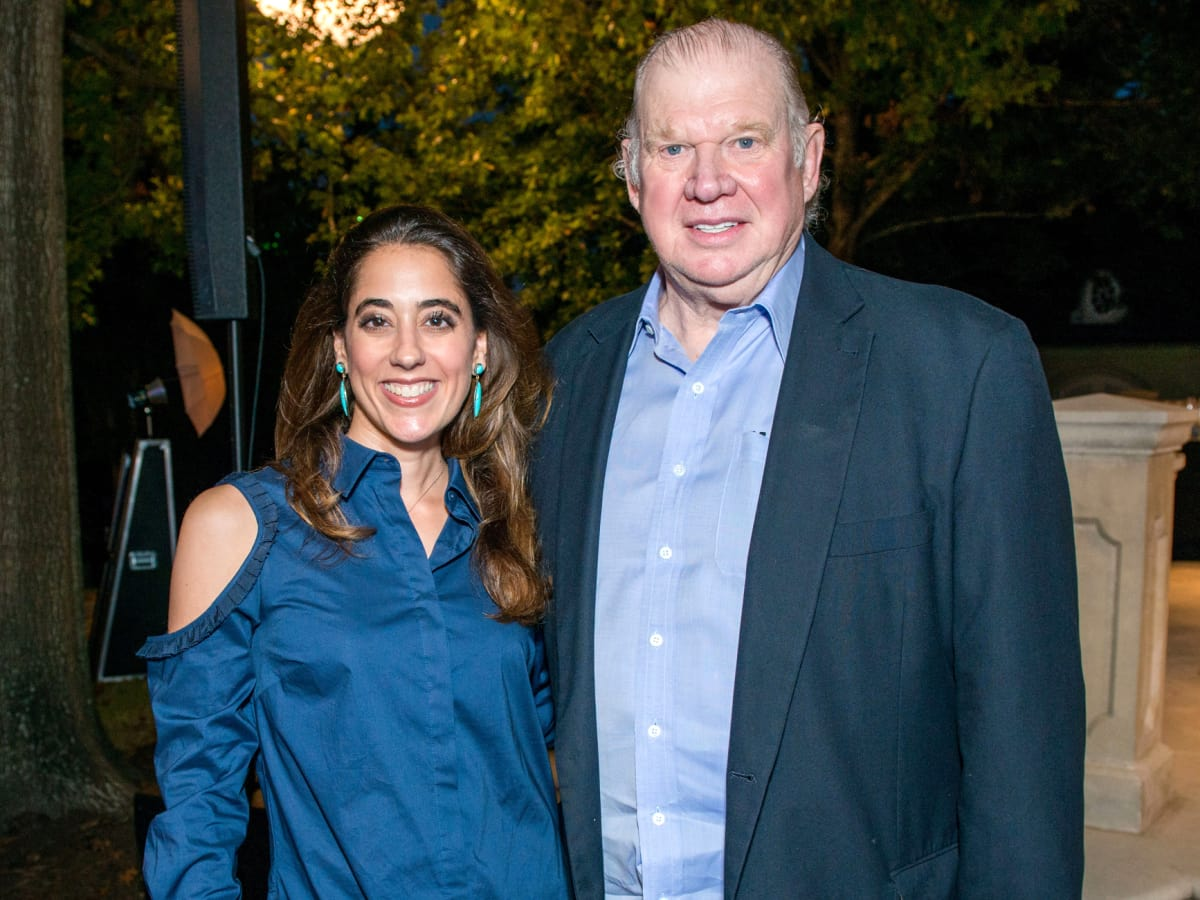 Houston, True Blue Gala, November 2017, Kristina and Paul Somerville