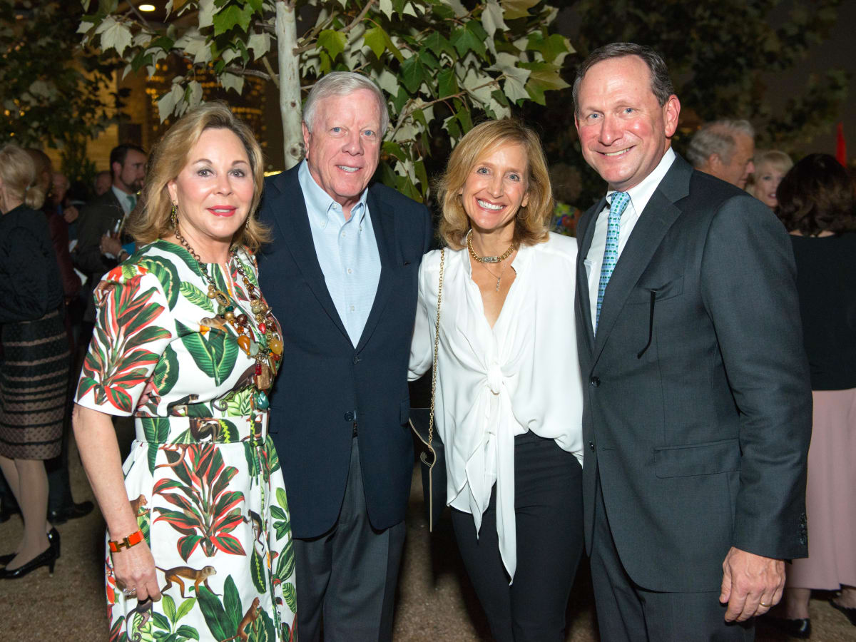 Houston, Buffalo Bayou Partnership Gala, November 2017, Nancy Kinder, Rich Kinder, Shari Fish, Tom Fish
