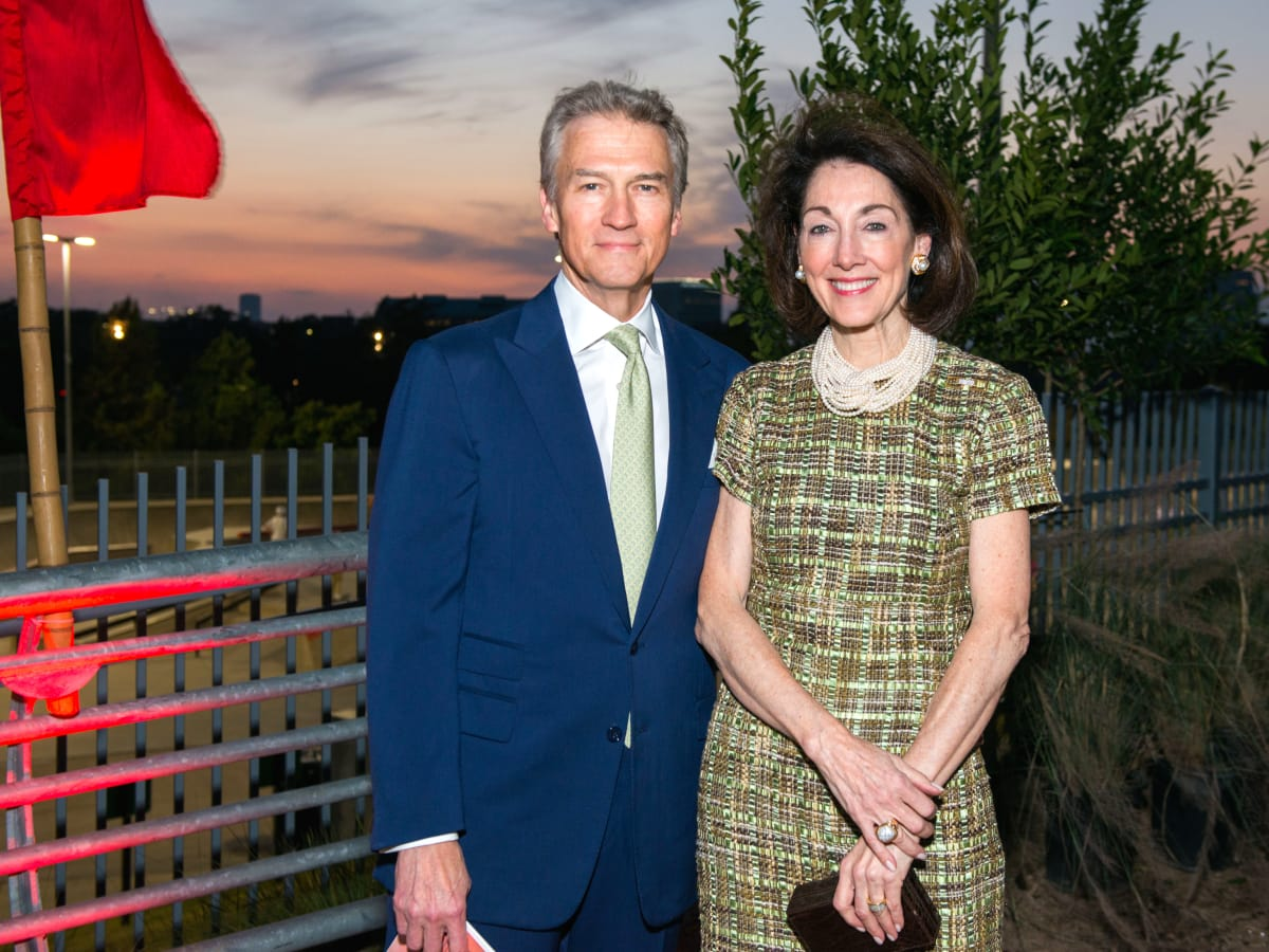 Houston, Buffalo Bayou Partnership Gala, November 2017, Sanford Criner, Susie Criner