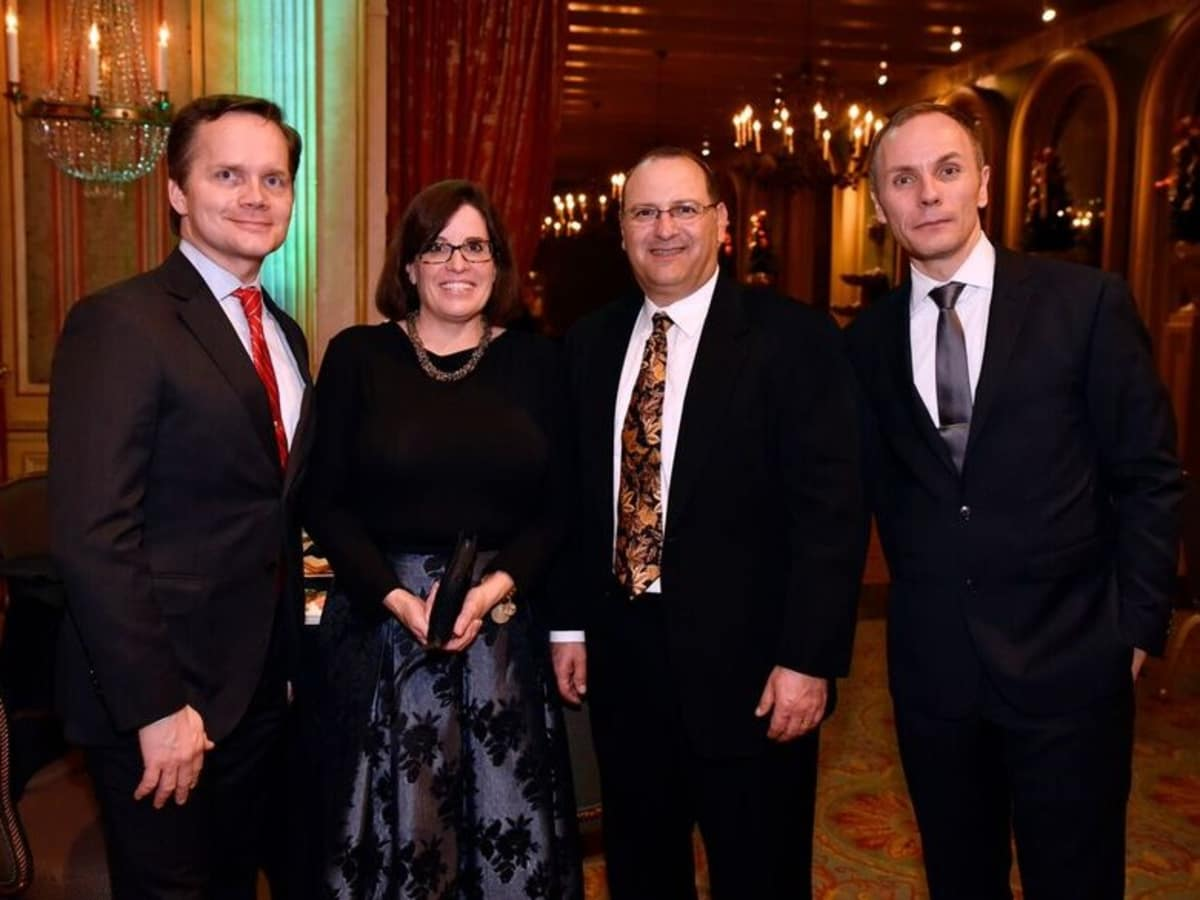 Damon Clyde, Gwen Perez, David Perez, Tuomas Hiltunen, FW Opera Dinner with the Stars