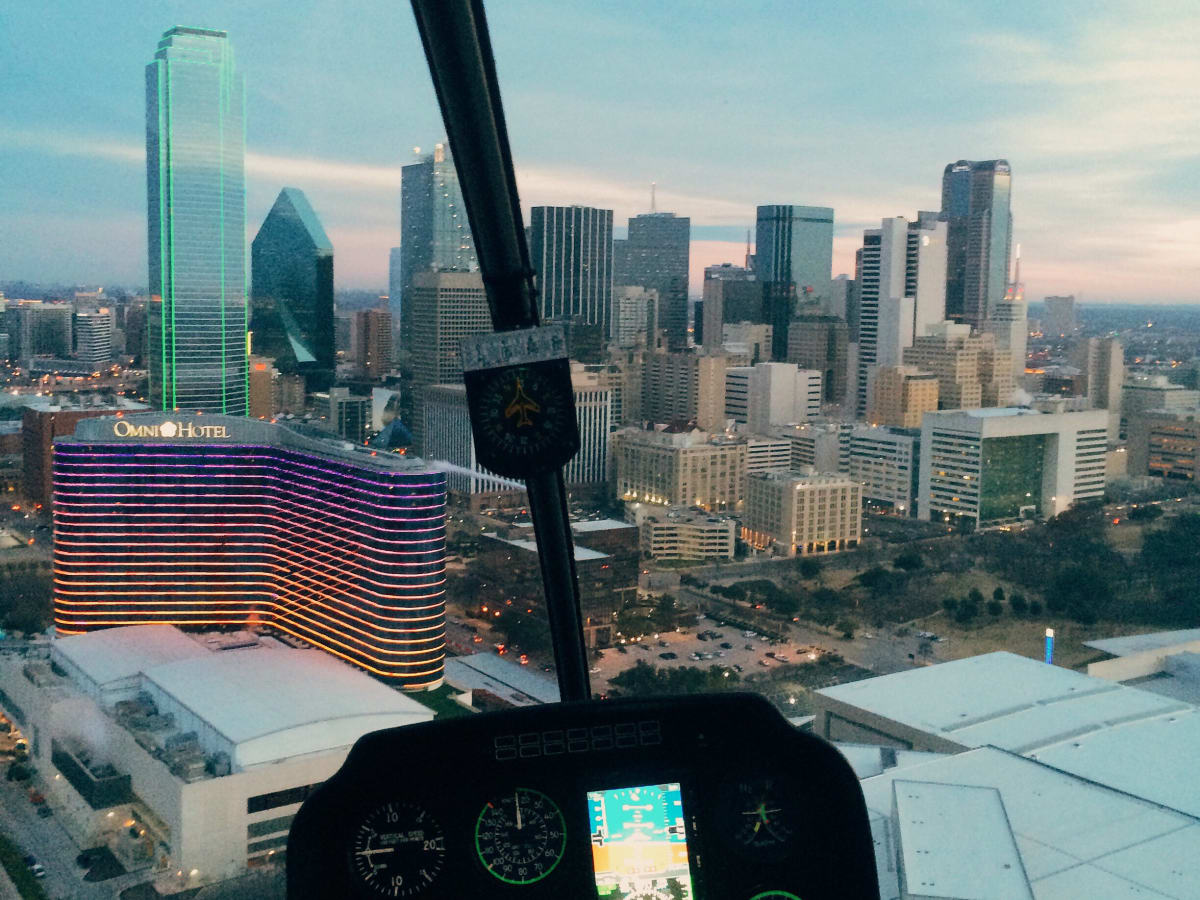 Epic Helicopters Dallas tour