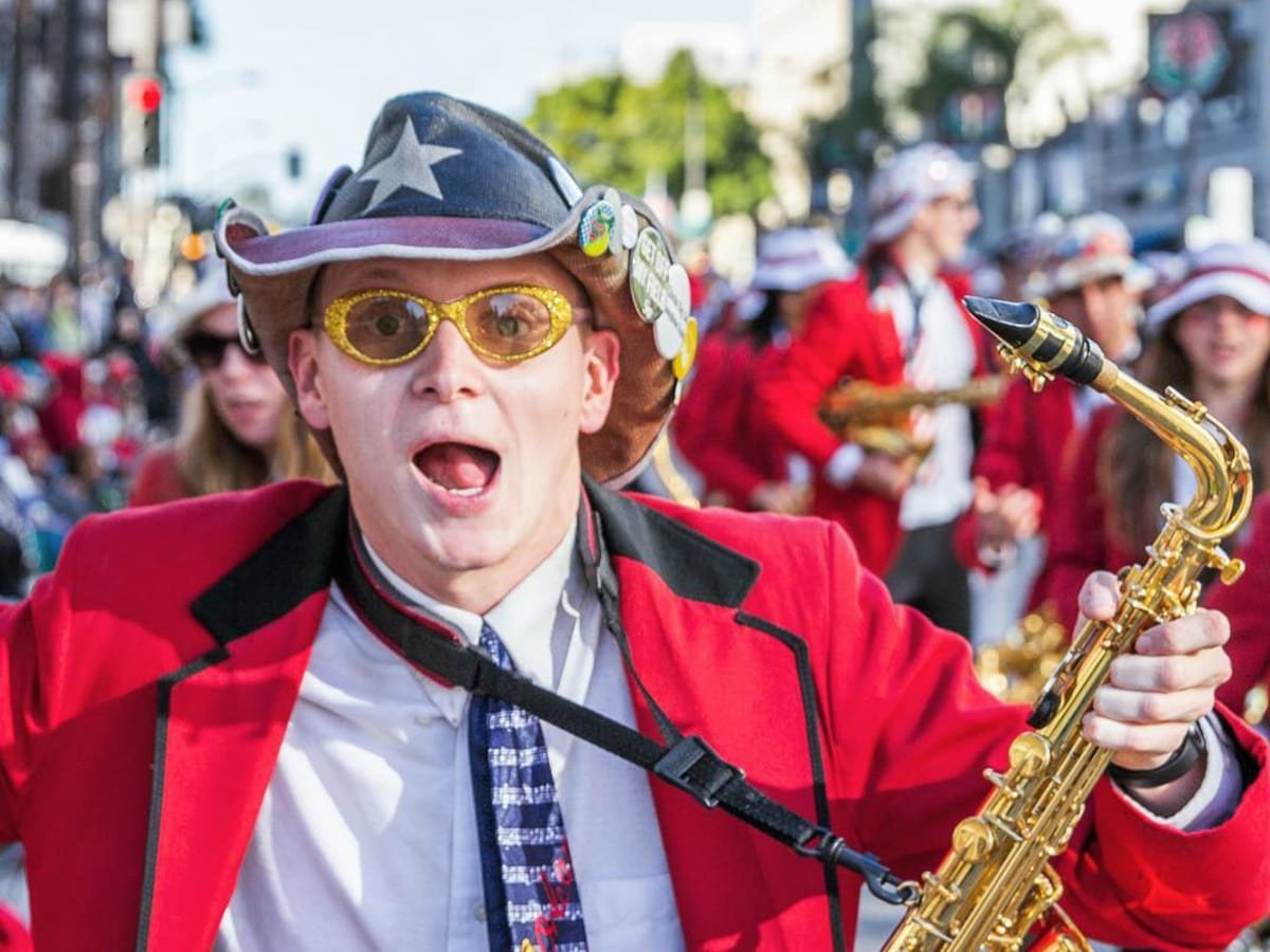 Stanford marching band