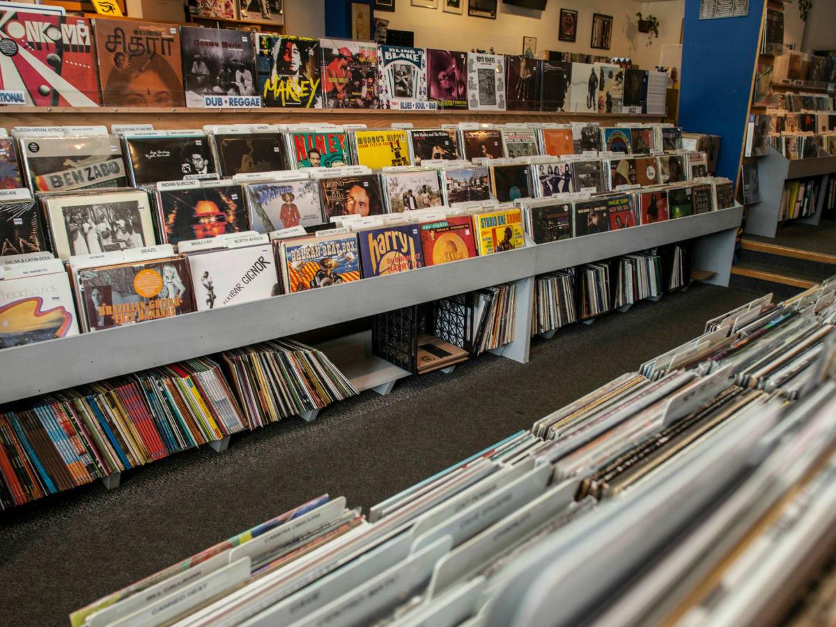 Waterloo Records vinyl music store Austin