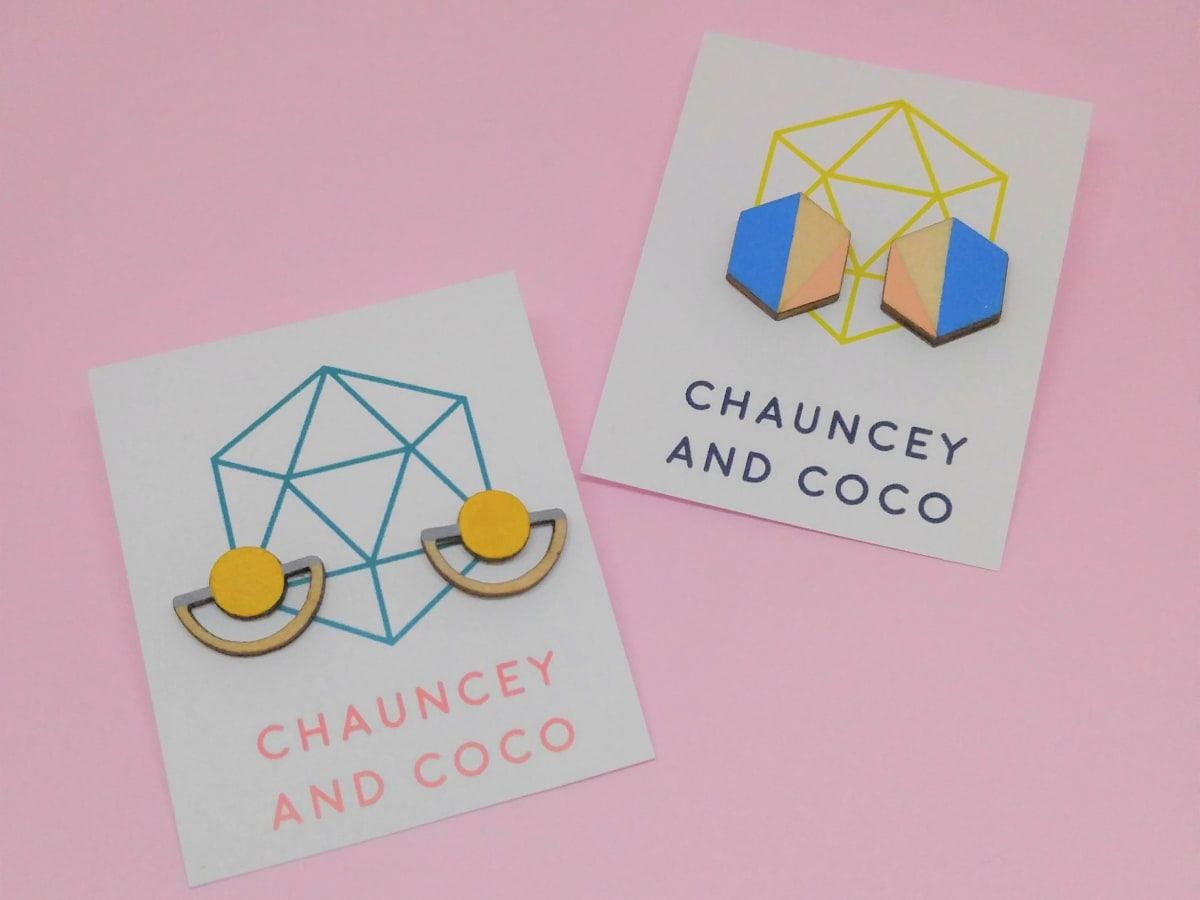 Chauncey and Coco earrings