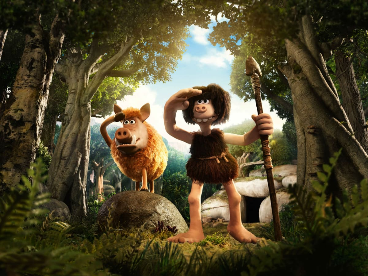 Dug (Eddie Redmayne) in Early Man